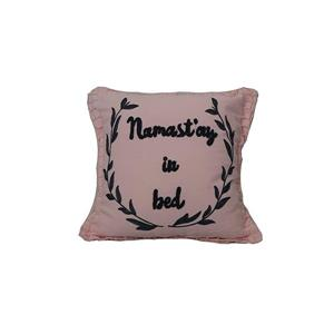 Urban Loft by Westex Typo Namaste Decorative Cushion - 20-in x 20-in - Pink