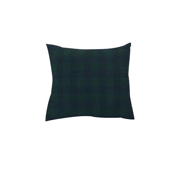 Urban Loft by Westex Buffalo Checks Decorative Cushion - 20-in x 20-in - Blue/Green