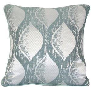 Urban Loft by Westex Siata Decorative Cushion - 20-in x 20-in - Teal