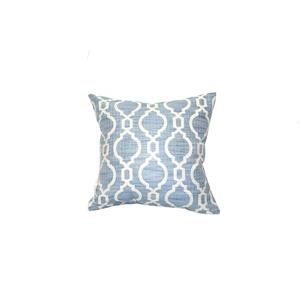 Urban Loft by Westex Lessa Tile Decorative Cushion - 20-in x 20-in - Blue