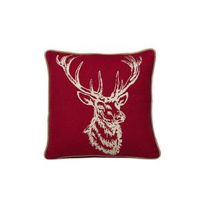 Urban Loft by Westex Stag Decorative Cushion - 18-in x 18-in - Gold