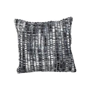 Urban Loft by Westex Frankfurt Decorative Cushion - 20-in x 20-in - Charcoal