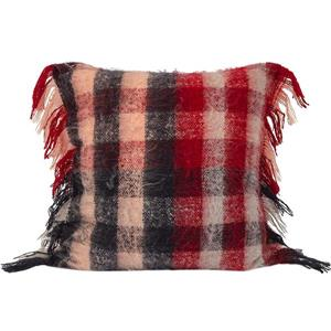 Urban Loft by Westex Mohair Plaid Check Decorative Cushion - 20-in x 20-in - Multi