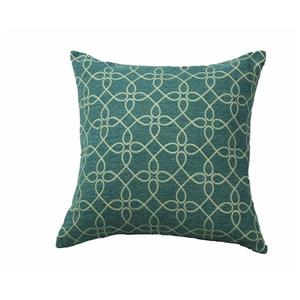 Urban Loft by Westex Spirograph Decorative Cushion - 20-in x 20-in - Denim