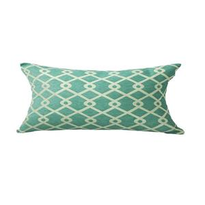 Urban Loft by Westex Chain Link Decorative Cushion - 14-in x 26-in - Teal