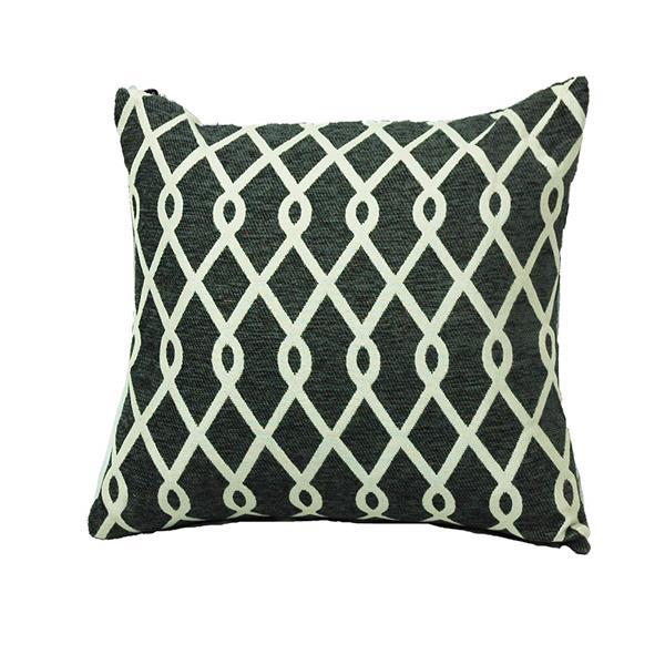 Urban Loft by Westex Chain Link Decorative Cushion - 20-in x 20-in - Pewter