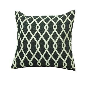 Urban Loft by Westex Chain Link Decorative Cushion - 20-in x 20-in - Pewter