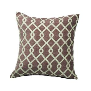 Urban Loft by Westex Chain Link Decorative Cushion - 20-in x 20-in - Mutlicoloured