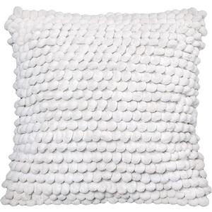 Urban Loft by Westex Bubbles Decorative Cushion - 20-in x 20-in - White