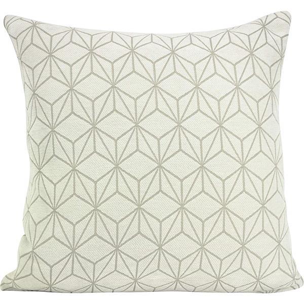 Urban Loft by Westex Spider Cushion Decorative Cushion - 20-in x 20-in - Cream