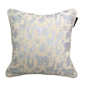 Urban Loft by Westex Animal Farm Decorative Cushion - 20-in x 20-in - Silver