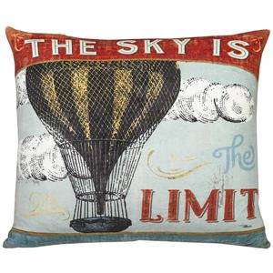 "Coussin décoratif «Wa Sky Limit», 20"" x 20"", multicolore"