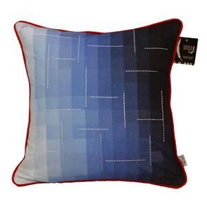 """Coussin décoratif «Gradient» , 20"""" x 20"""", bleu"""