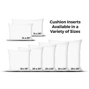 Urban Loft by Westex Polyester Filled Cushion Insert - 20-in x 20-in - White