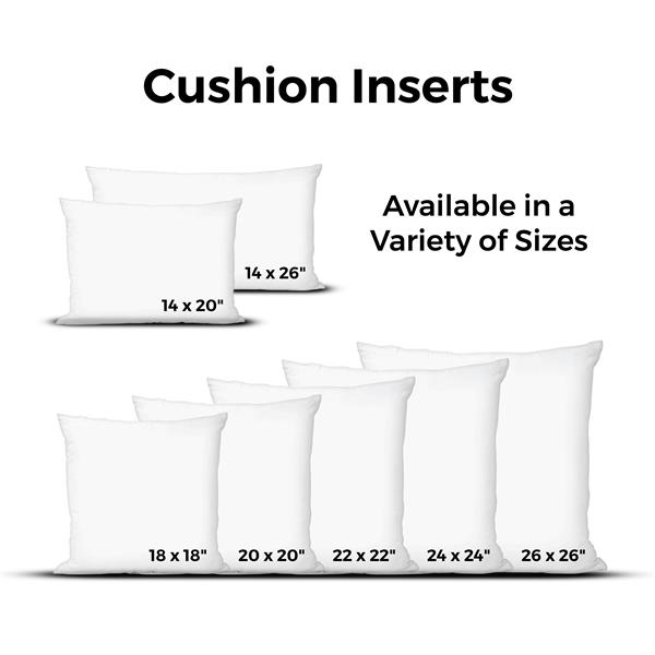 Urban Loft by Westex Goose Feather Cushion Insert - 20-in x 20-in - White