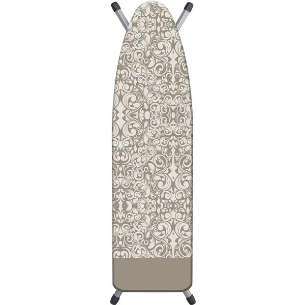 Laundry Solutions by Westex Damask Ironing Board Cover - 15-in x 54-in - Beige