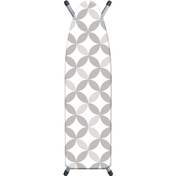 Laundry Solutions by Westex Geo Ironing Board Cover - 15-in x 54-in - Grey