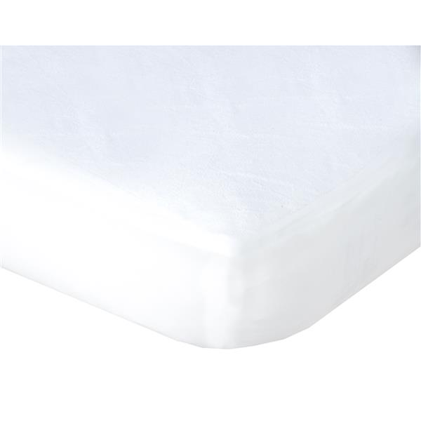 Sleep Solutions by Westex Pro-Shield Terry Waterproof Mattress Protector - King