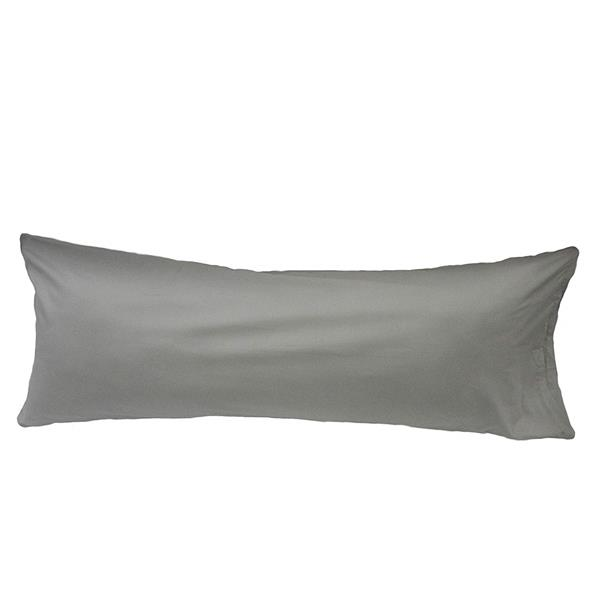 Sleep Solutions by Westex Body Pillow Case - 21-in x 55-in - Silver