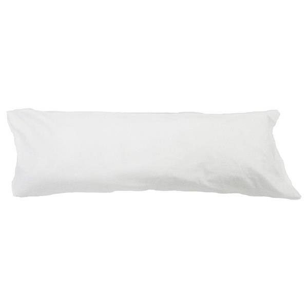 Sleep Solutions by Westex Body Pillow Case - 21-in x 55-in - White