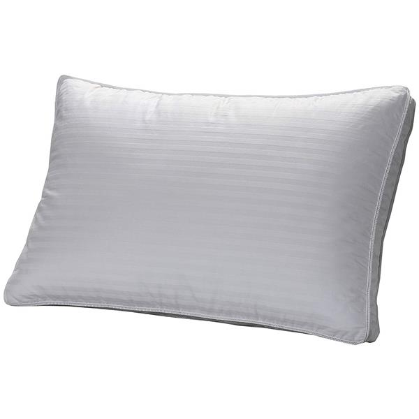 Sleep Solutions by Westex Down 3-Chamber Standard Pillow - White
