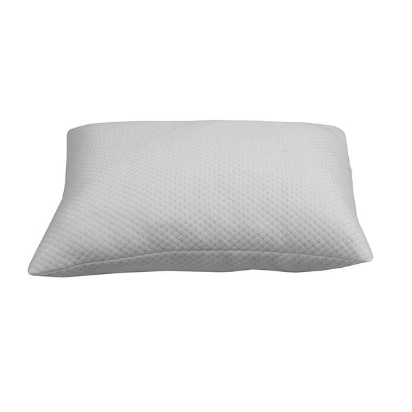 Sleep Solutions by Westex Premium Hypoallergenic Bamboo Queen Pillow - White