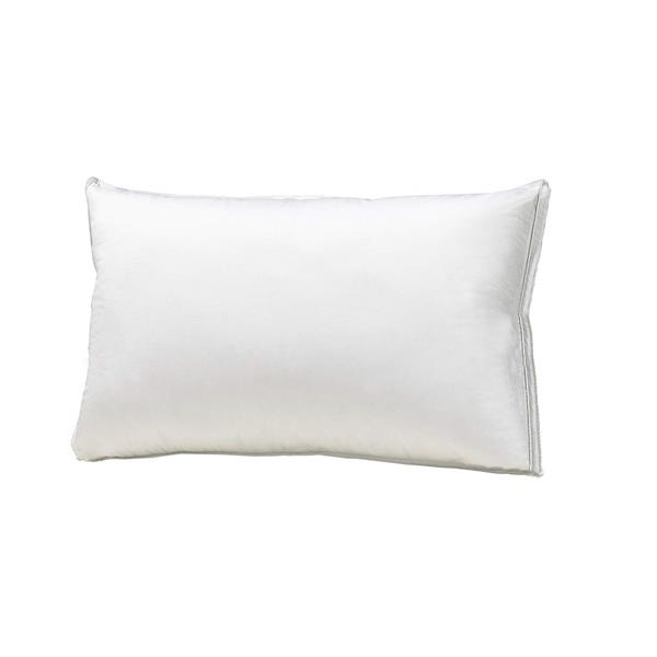 Sleep Solutions by Westex Luxury Cotton Goose Down Queen Pillow - White