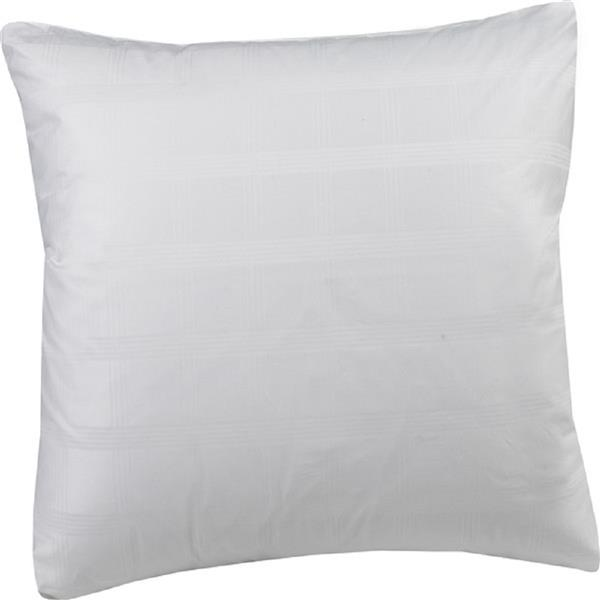 Sleep Solutions by Westex Premium Polyester Euro Pillow - White