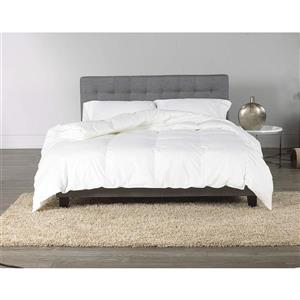 Sleep Solutions by Westex Canadian White Down and Feather Comforter - Queen - White