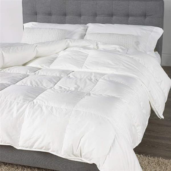 Sleep Solutions by Westex Luxury Premium Down Comforter - Twin - White