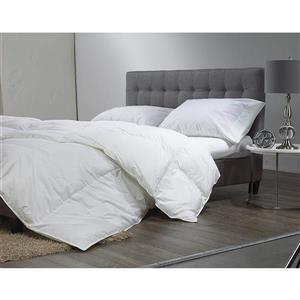 Couette microgel, grand lit, blanc