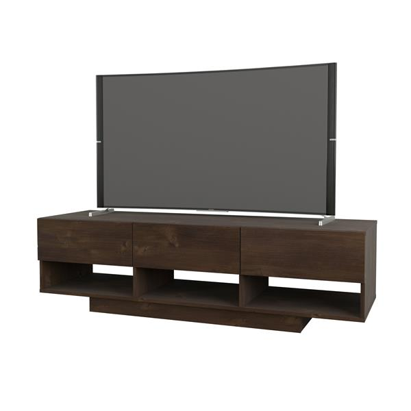 Nexera Stereo Entertainment Set/TV Stand - Truffle - 2-Piece