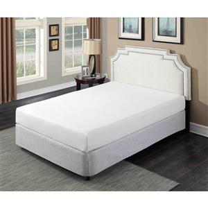 Primo International Divine Plush 8-in Gel Foam Mattress - Twin