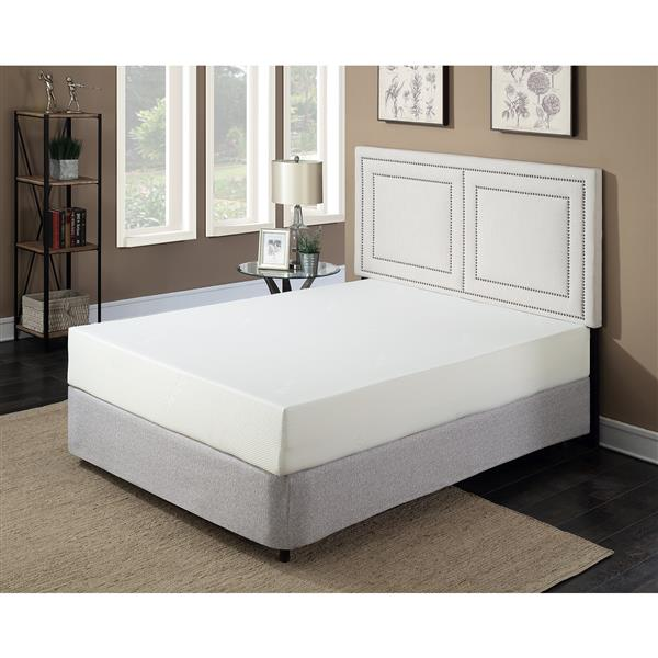 Collection Bourbon Street Super Divine Plush 10 In Gel Foam Mattress Queen 29860 Rona