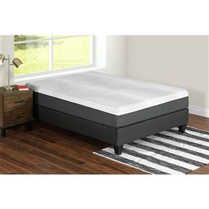 Collection Bourbon Street Nara 12-in AcquaPuro Memory Foam Mattress - Queen