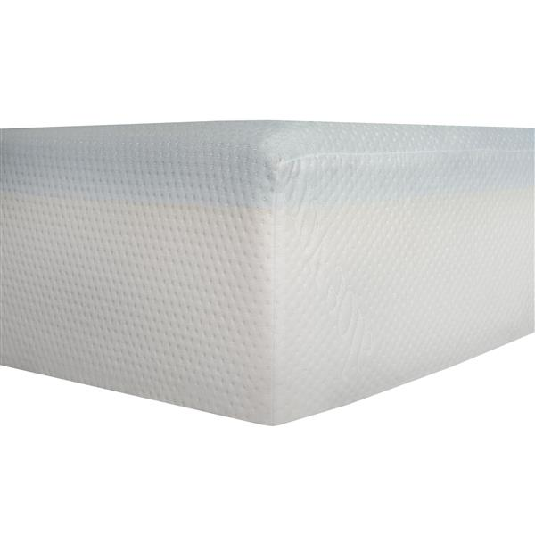 Collection Bourbon Street Divine Plush 8-in Gel Foam Mattress - King