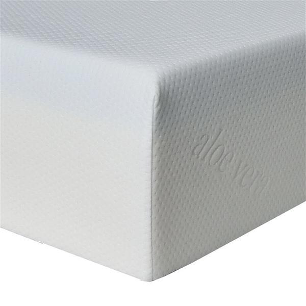 Collection Bourbon Street Super Divine Plush 10-in Gel Foam Mattress - Twin XL