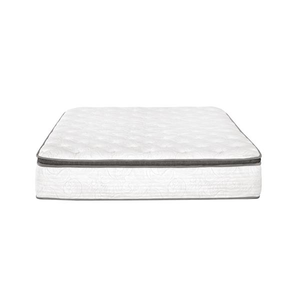 Collection Bourbon Street Berri 12-in Pocket Coil Mattress with Lumbar Gel - Queen