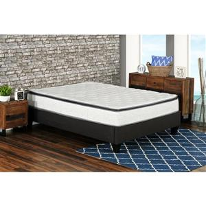 Collection Bourbon Street Berri 10-in Pocket Coil Mattress with Lumbar Gel - Queen
