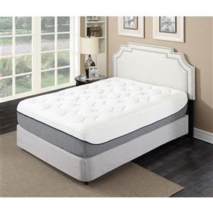 """Matelas 13"""" en mousse mémoire infusée de gel, très grand lit"""