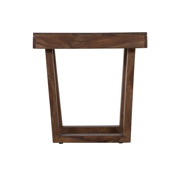 """Collection Bourbon Street Sam Indian Rosewood End Table - 24"""" x 24"""""""