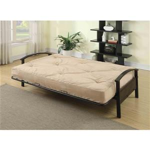 Collection Bourbon Street Avery Full-Size Pocket Coil Futon Mattress - Beige