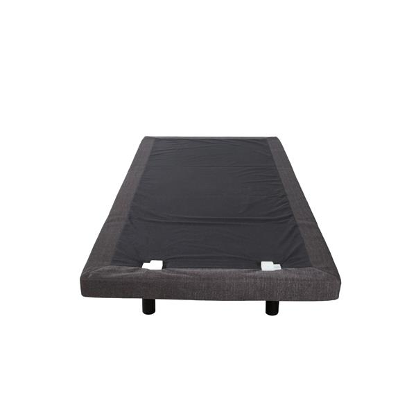Collection Bourbon Street Altitude Upholstered Adjustable Bed, USB ports, Twin XL