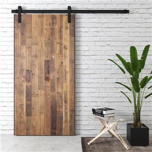 Urban Woodcraft Houston Barn Door with Hardware - Natural - 40-in