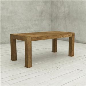 Urban Woodcraft Austin Dining Table - Solid Wood - Natural - 70-in