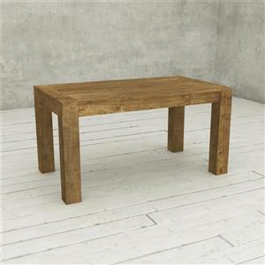 Urban Woodcraft Austin Dining Table - Solid Wood - Natural - 60-in