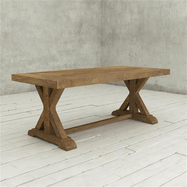 """Table de salle à manger en bois récupéré Santiago, 78 """""""