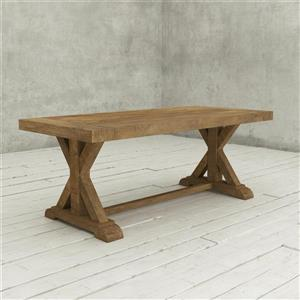 Urban Woodcraft Sardegna Reclaimed Wood Dining Table - 78-in