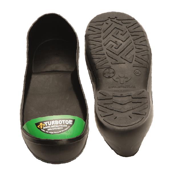 Impacto Turbotoe Steel Toe Cap - Black/Green - XX-Large shoe M13-14