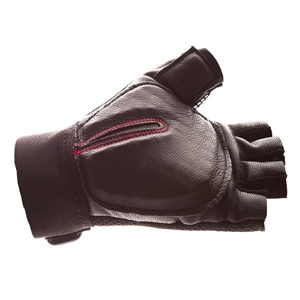IMPACTO Carpal Tunnel Glove Half Finger - Black - XXX-Large